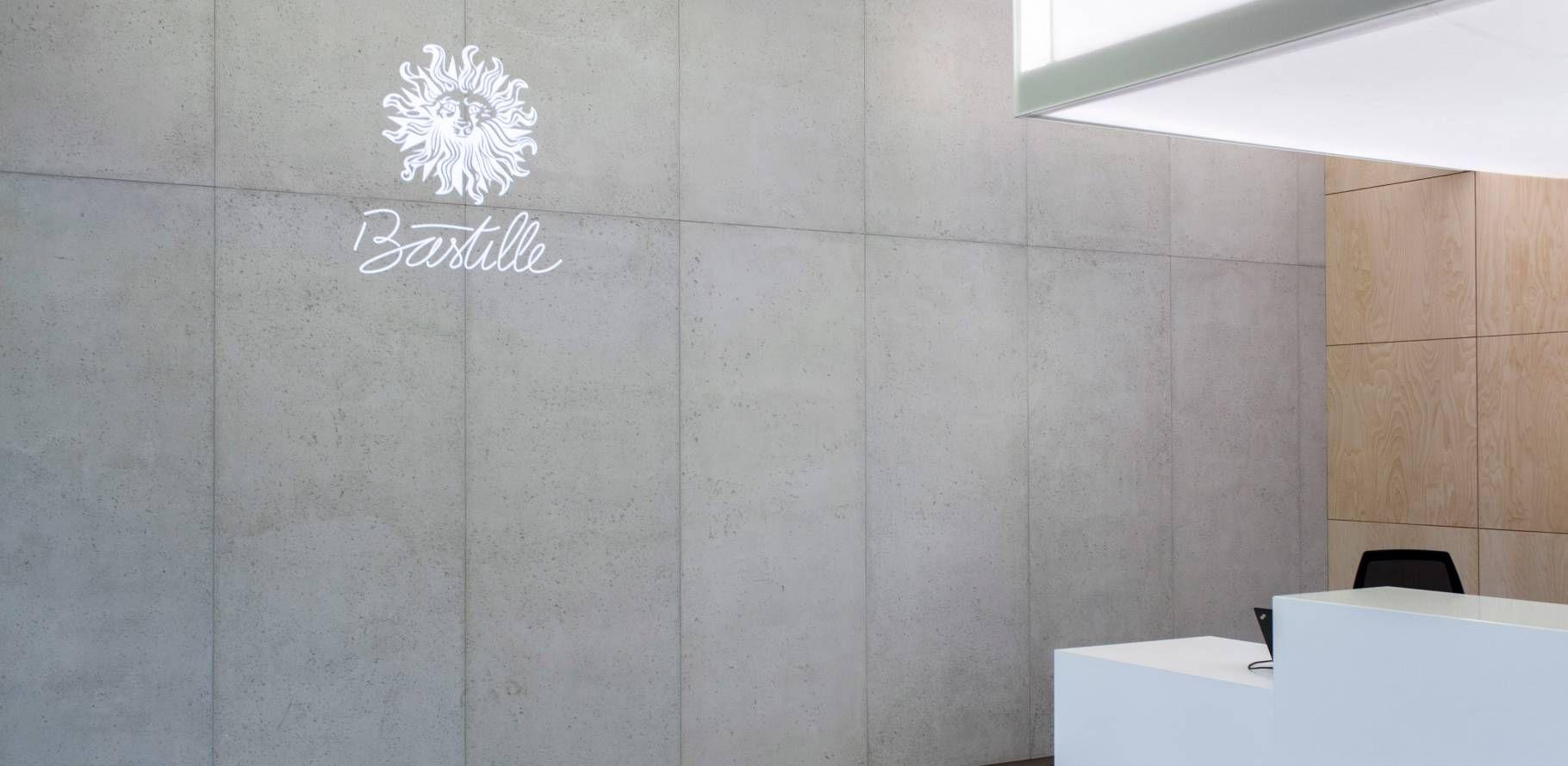 Publicis Bastille Habillage Mural En Panbeton Habillage Mural