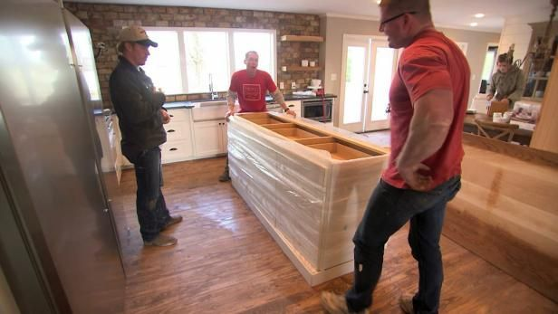 Custom Kitchen Islands Pictures Ideas Tips From Hgtv: Clint Harp, Featured Wood-craftsman On HGTV's Fixer Upper