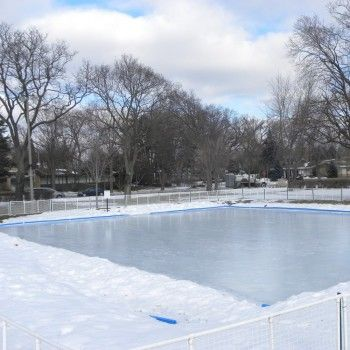 50 X 80 Outdoor Ice Rink Kit With Liner Outdoor Rink Outdoor Backyard Rink