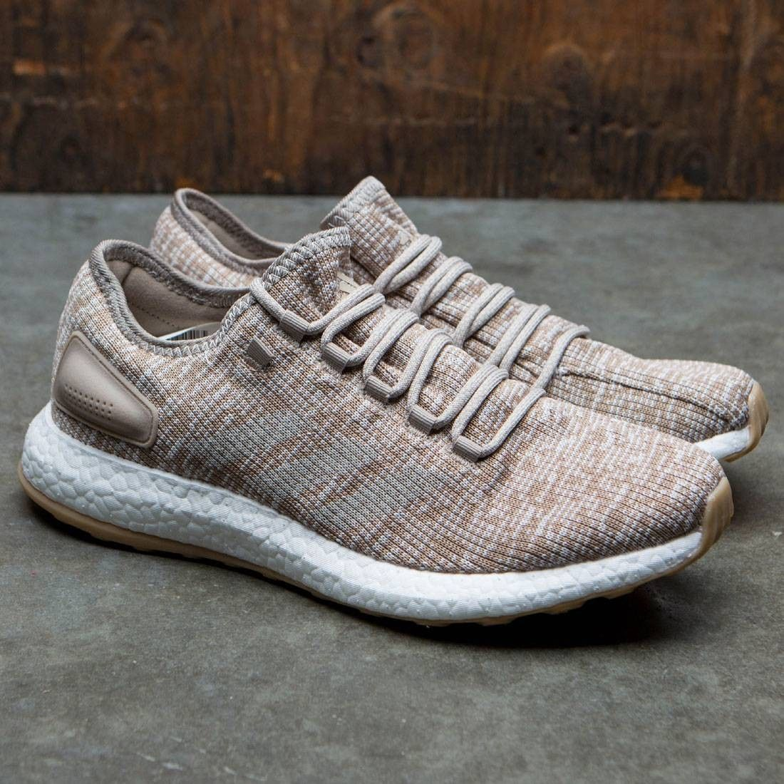 Adidas Men PureBOOST (khaki / clear