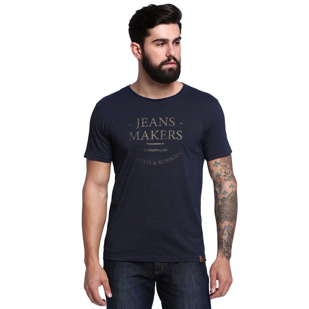 Camiseta Masculina - Damyller  98bc7e6695c