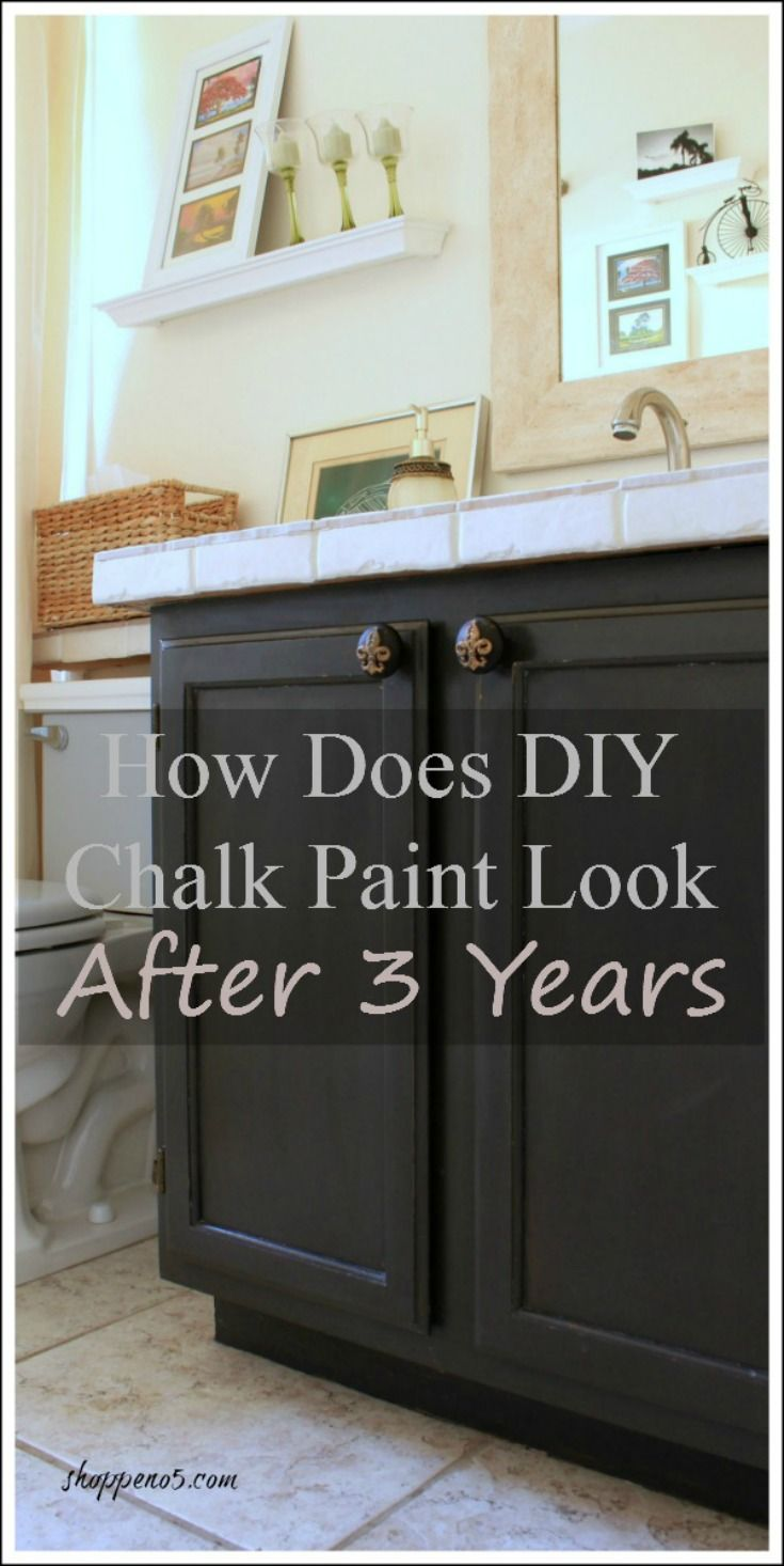 How Does DIY Chalk Paint Look After 3 Years