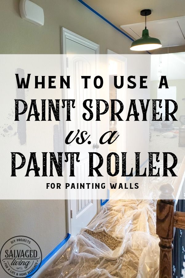 The Best Tool For Painting Walls Using A Paint Sprayer Diy Wall Painting Paint Sprayer Walls