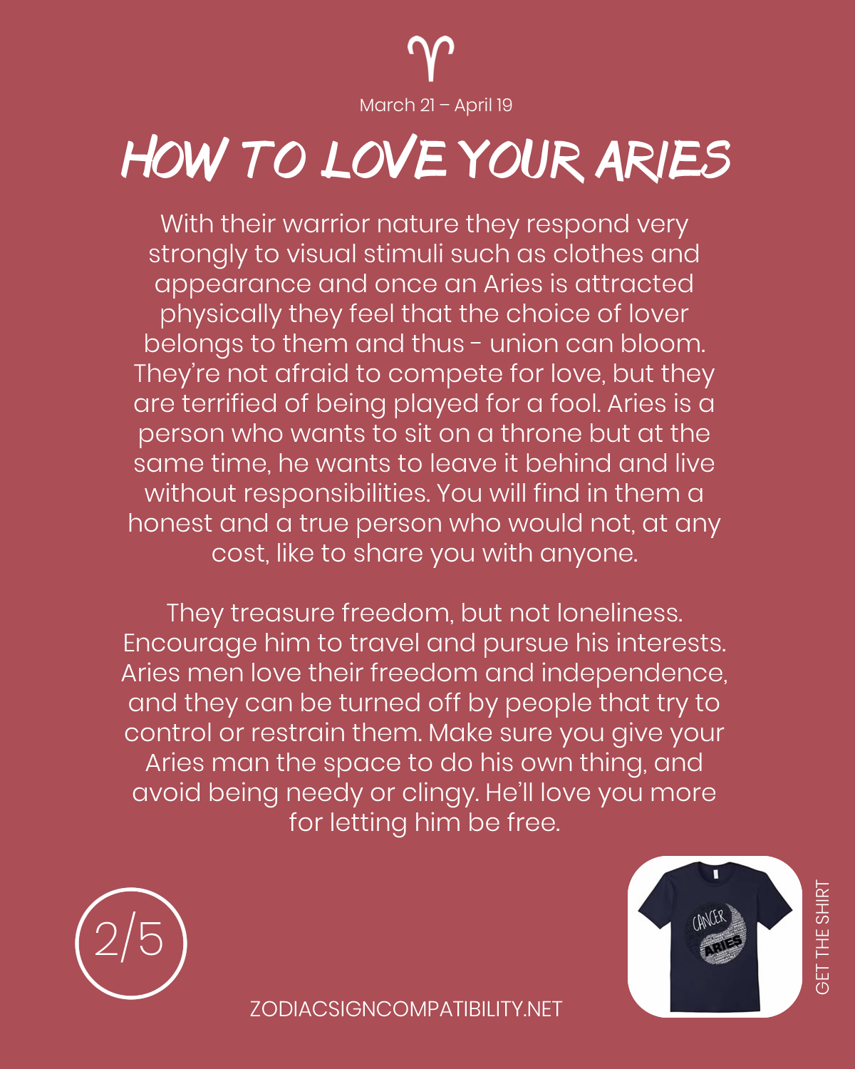 Zodiac Signs Compatibility: Aries Compatibility - How to love your Aries #2   Aries and gemini