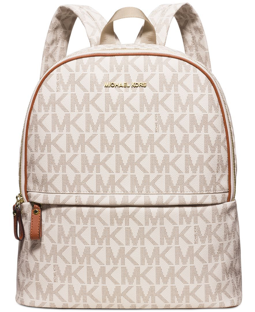 MICHAEL Michael Kors Signature Large Backpack, a Macy\u0027s Exclusive Style