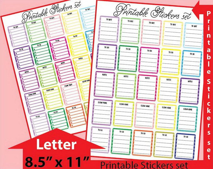Meal Planner Stickers Weight Watchers Planner Stickers Weight