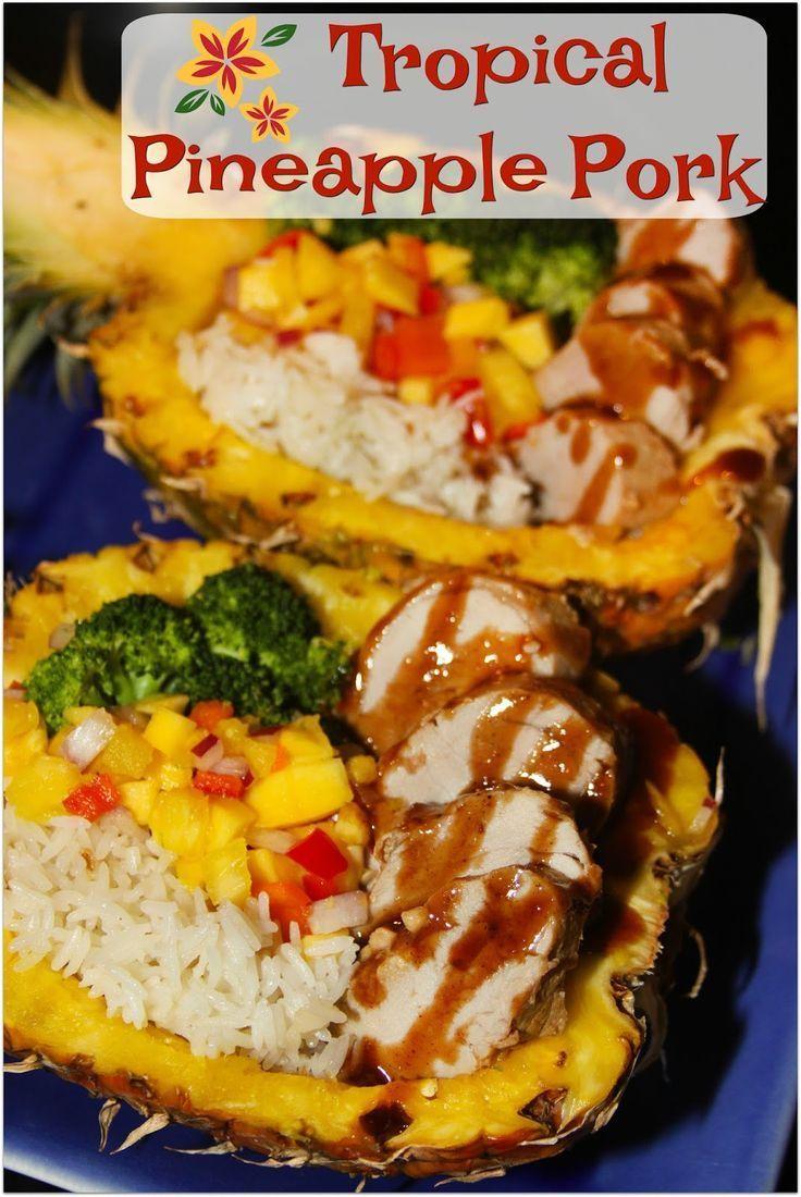 30 Minute Meal Tropical Teriyaki Pineapple Pork Recipes