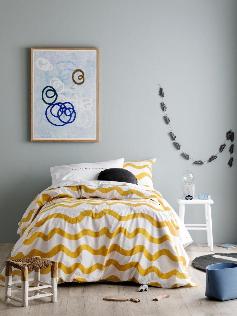 Gelb Schlafzimmer Ideen Wie Positionieren Sie Ihr Bett. Das Bett Ist Das Am  Meisten Natürliche