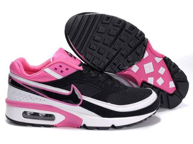 Chaussures Nike Air Classic BW Noir/ Blanc/ Rose [nike_10467 ...