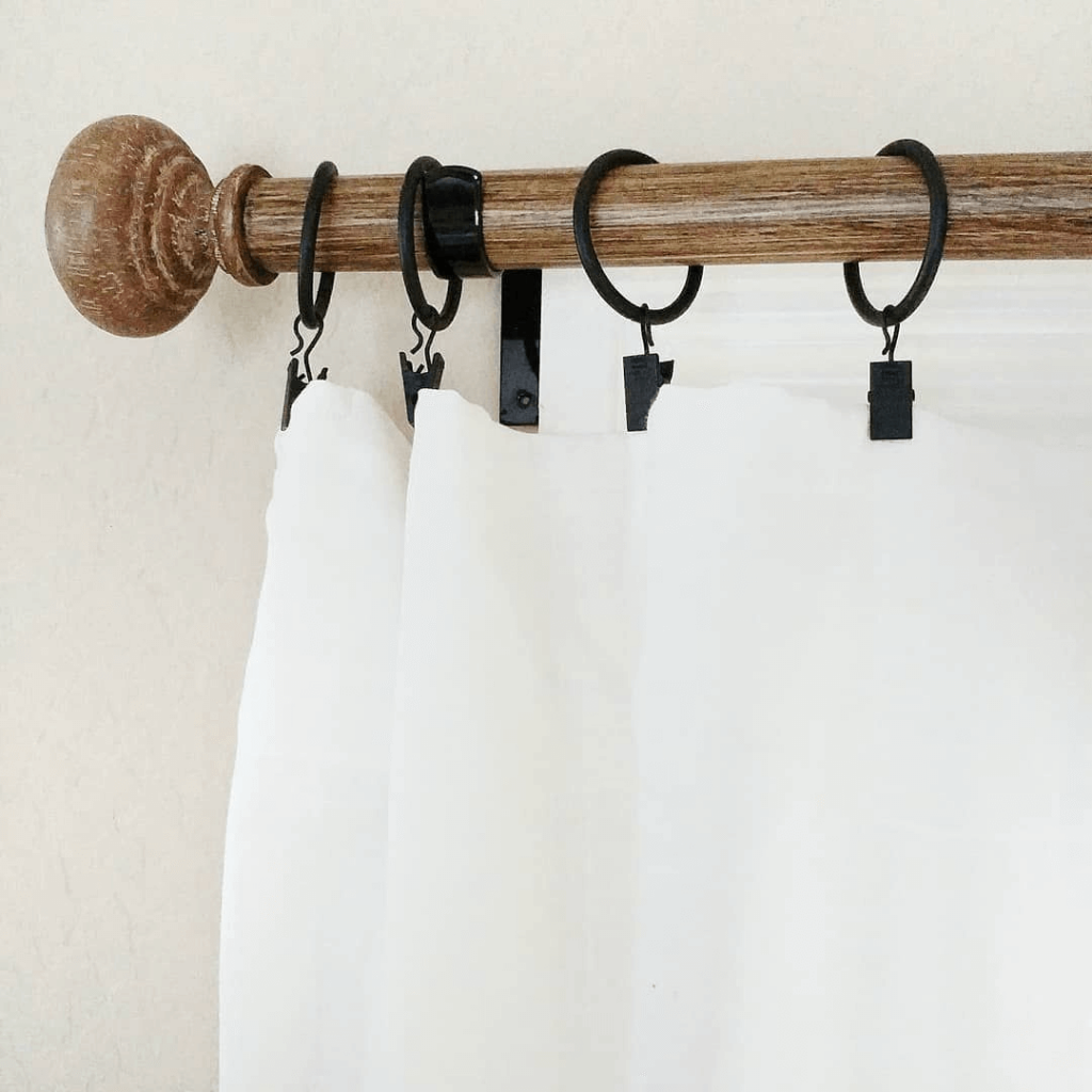 How To Hang Curtains Without Drilling Holes In Your Wall