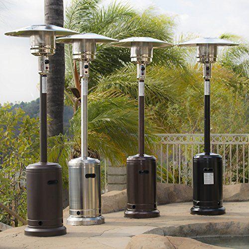 patio standing heater propane gas