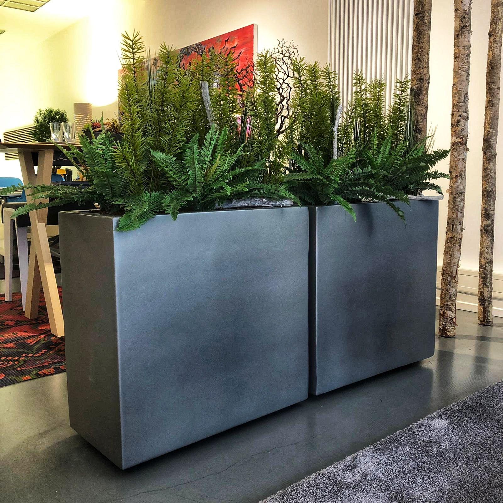 Raumteiler Sichtschutz Innendesign Kunstpflanzen Innovative