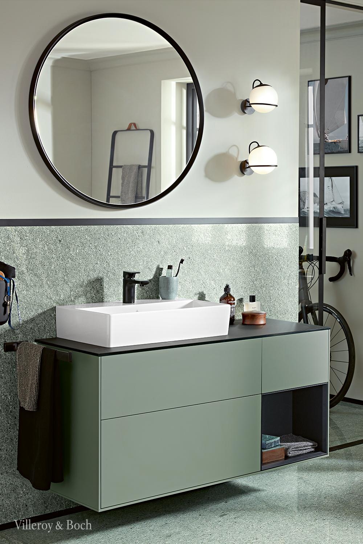 Olive Green Bathroom Colour Trends In 2020 Badezimmer Grun Grunraumgestaltung Badezimmer Innenausstattung