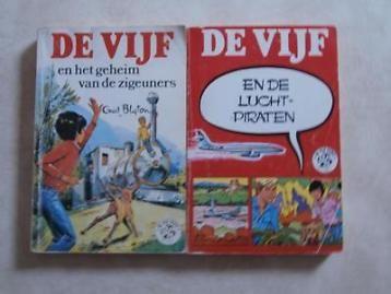 2 boekjes van Enid Blyton - De Vijf