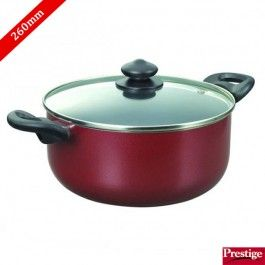 Prestige Omega Deluxe Non Stick Sauce Pan 260mm With Lid Saucepan Buy Kitchen Kitchen Items