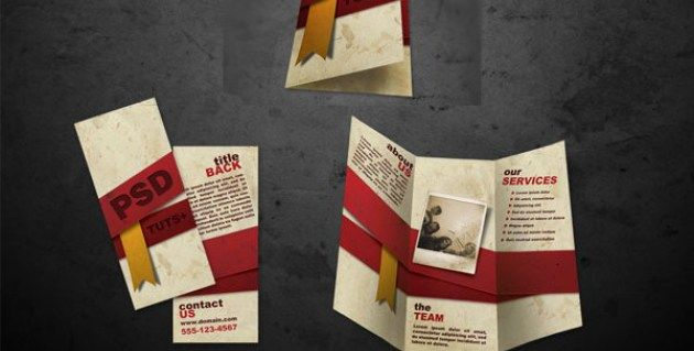 Brosur Flyer Menu Katering Brochure Pamphlet Designs - Sales brochure templates