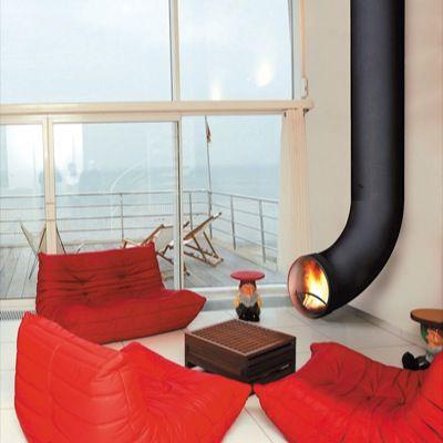 krb trubka / fireplace as the tube / cheminée a la tube