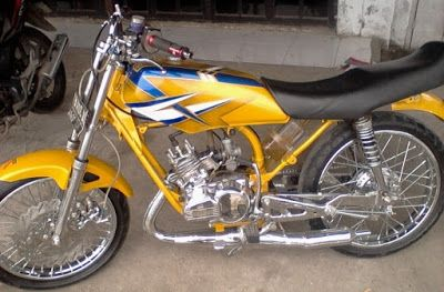 Gambar Motor Rx King Sederhana Motor Mobil Sederhana