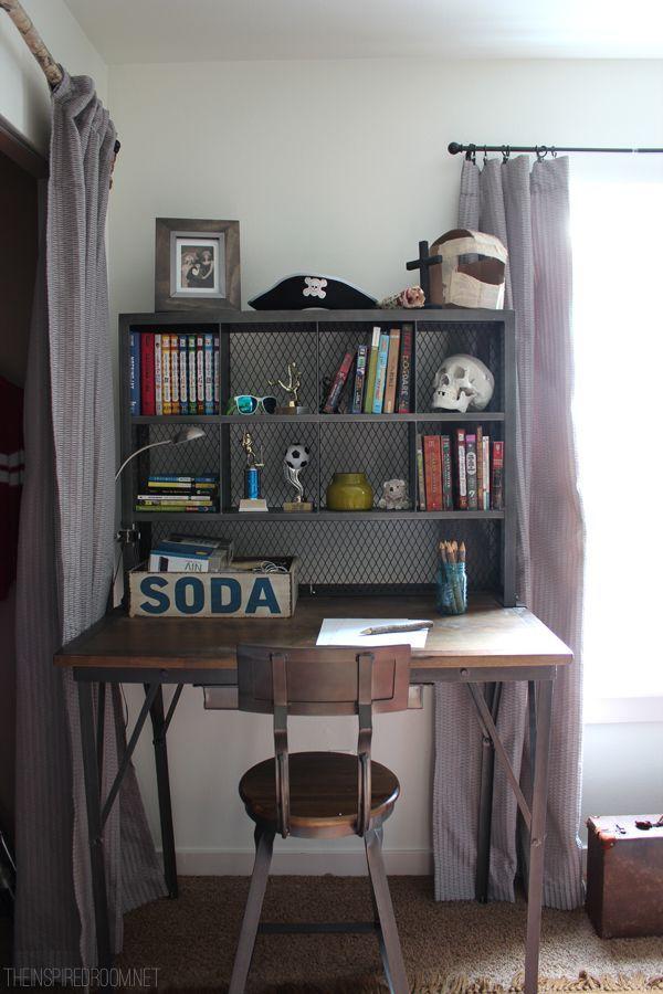 Teen Boy Desk