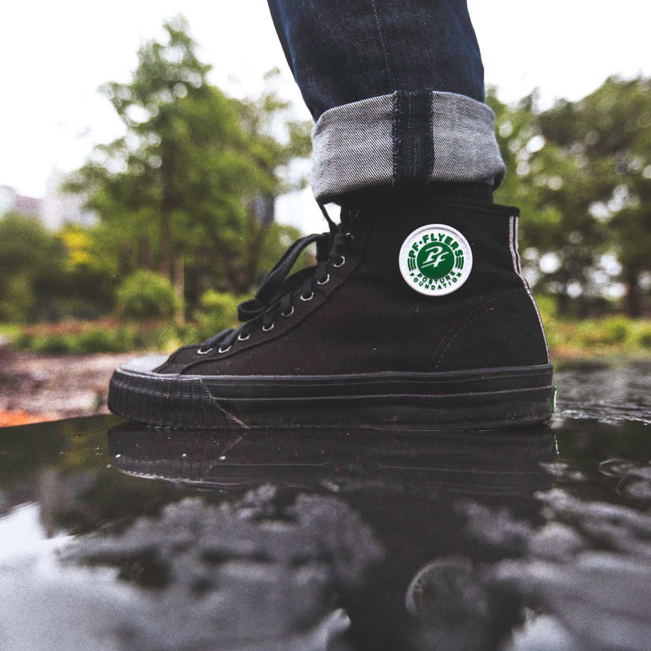6bd9e71c930947 PF FLYERS - walk your own way in the sandlot center high top. I don t care  if they re men s