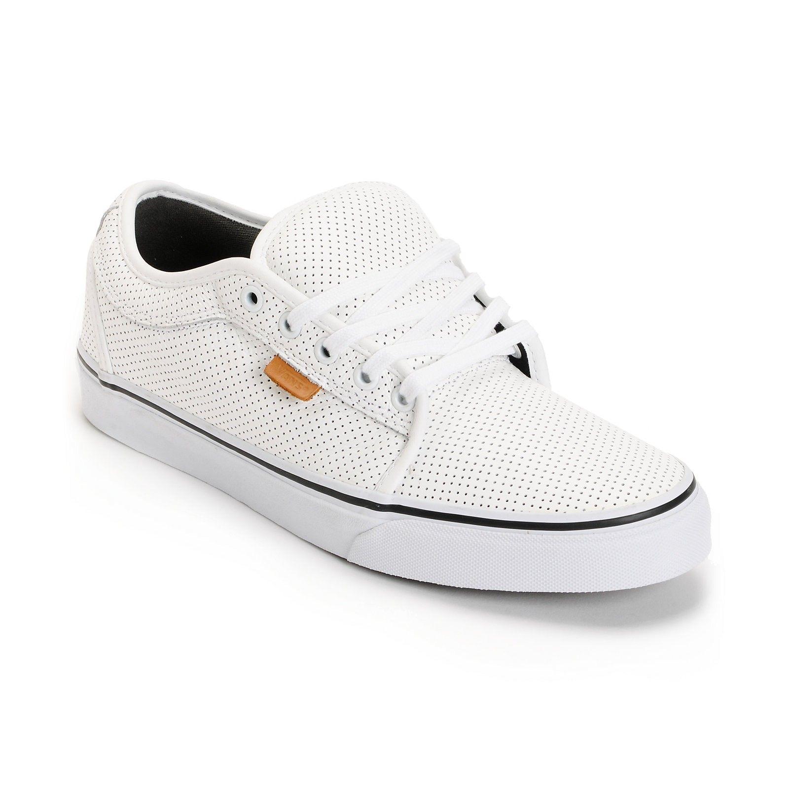 zapatillas vans piel hombres negras