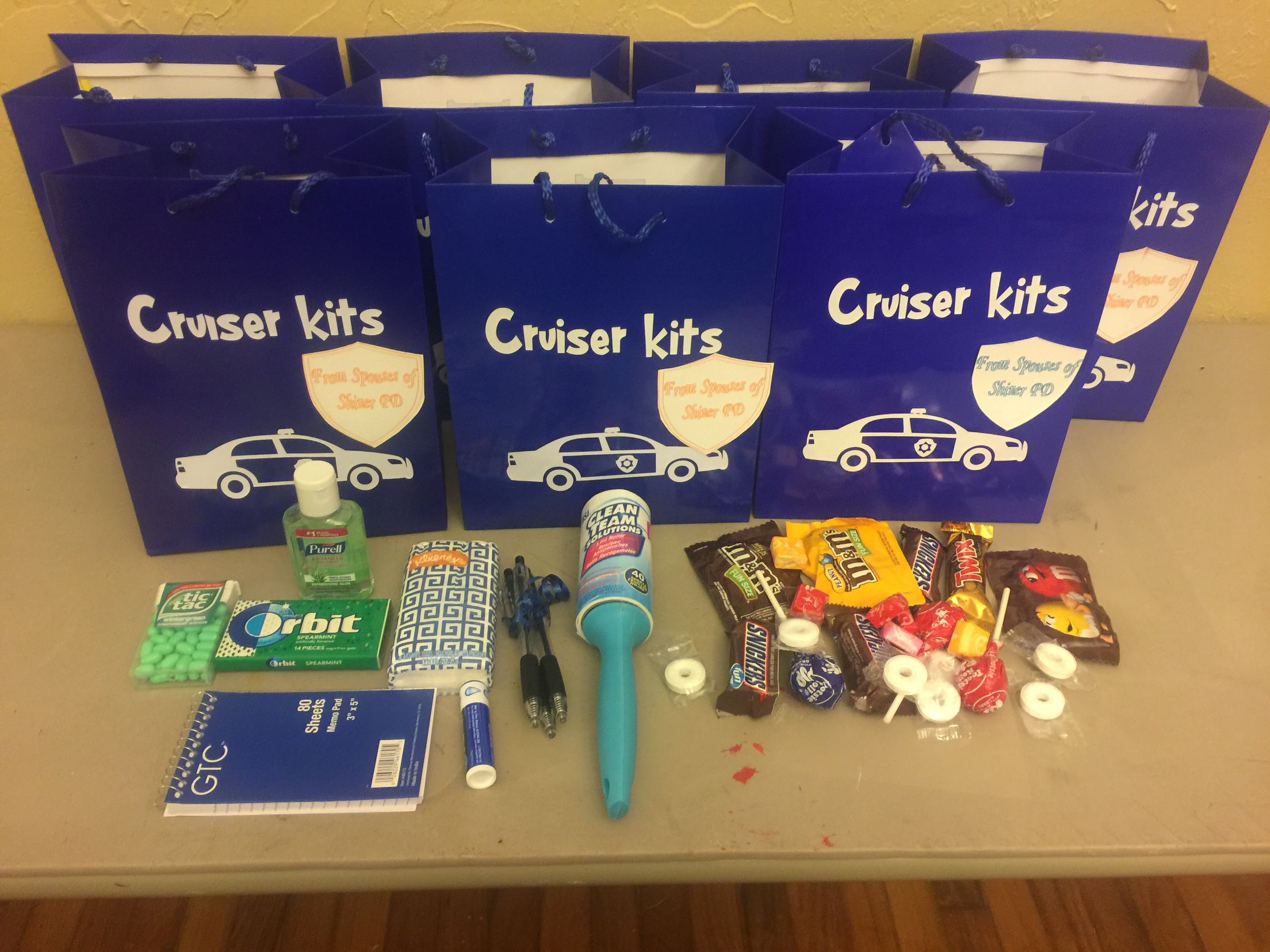 Cruiser kits national police week gifts (With images