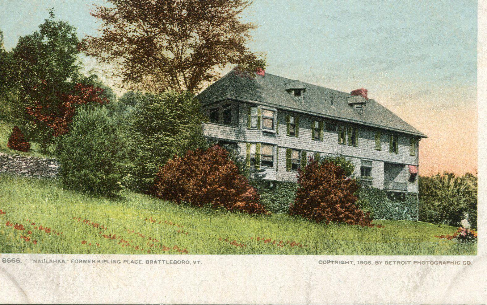 Rudyard Kipling Residence Brattleboro, VT