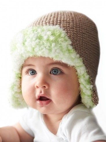 Free Knitting Pattern For Lined Trapper Hat For Baby And More Baby