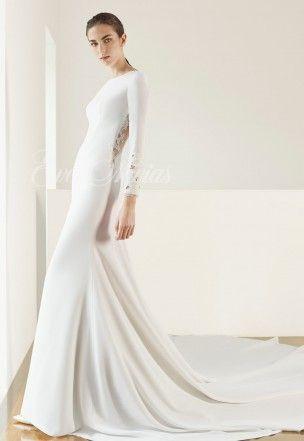 vestido de novia de patricia avendaño 2017 modelo 2691 en eva novias