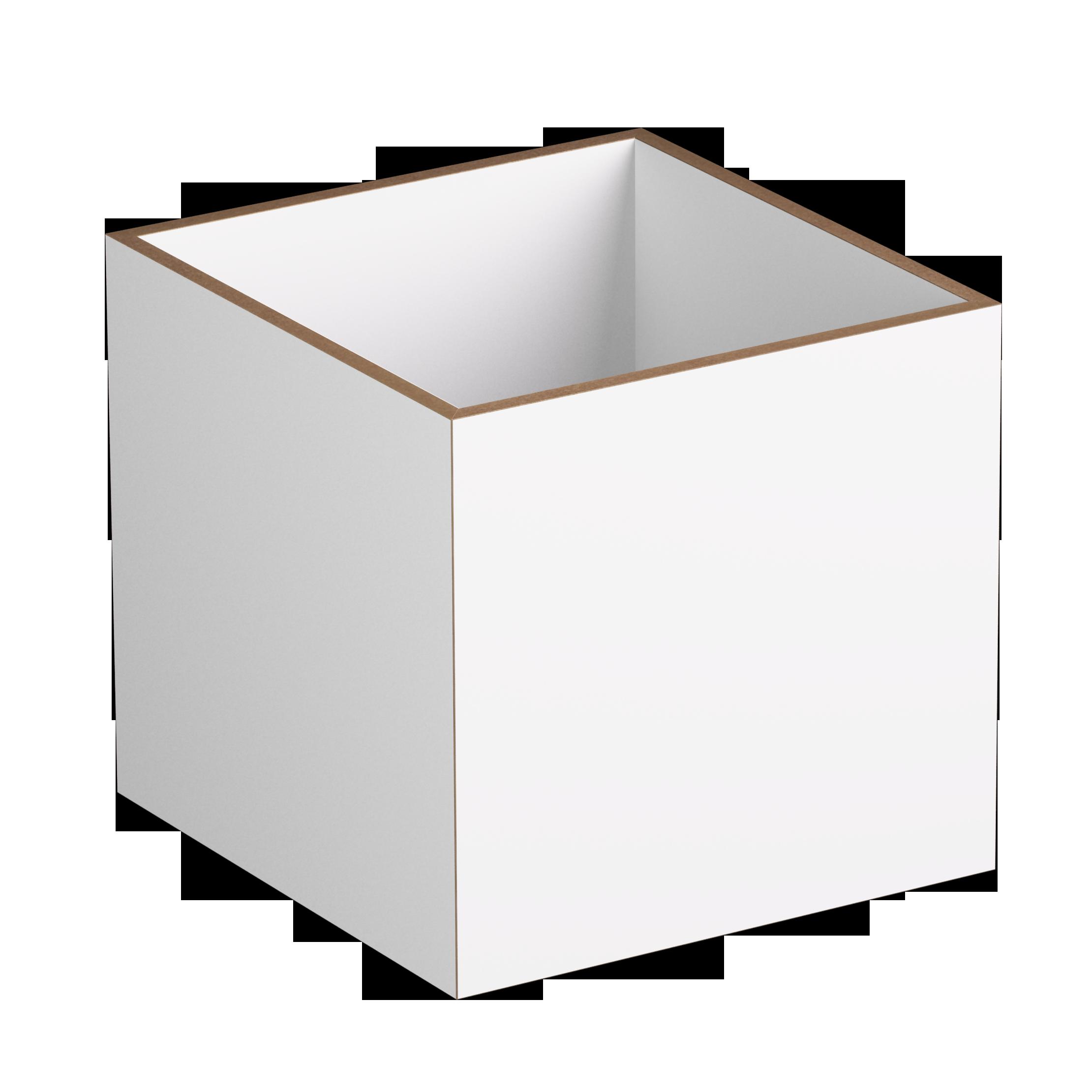 Einschub 1:1 weiß - stocubo Regalsystem, Würfelsystem, Würfel ...