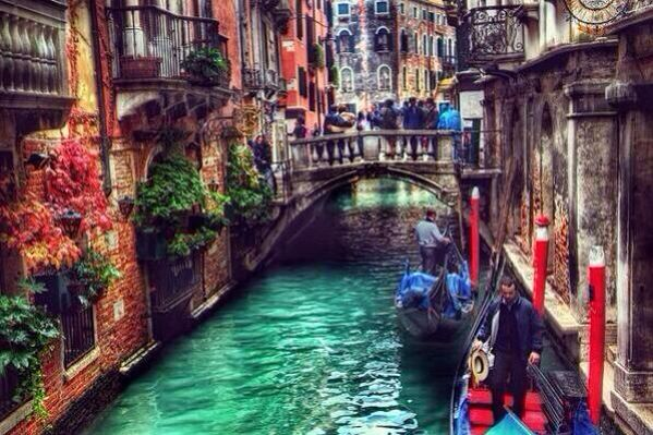 Venice, Italy. I need to see it again.