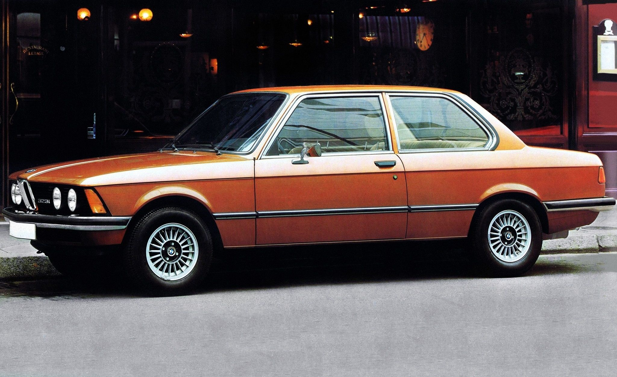The One That Started It All.... The Legendary and Classic BMW E21 ...