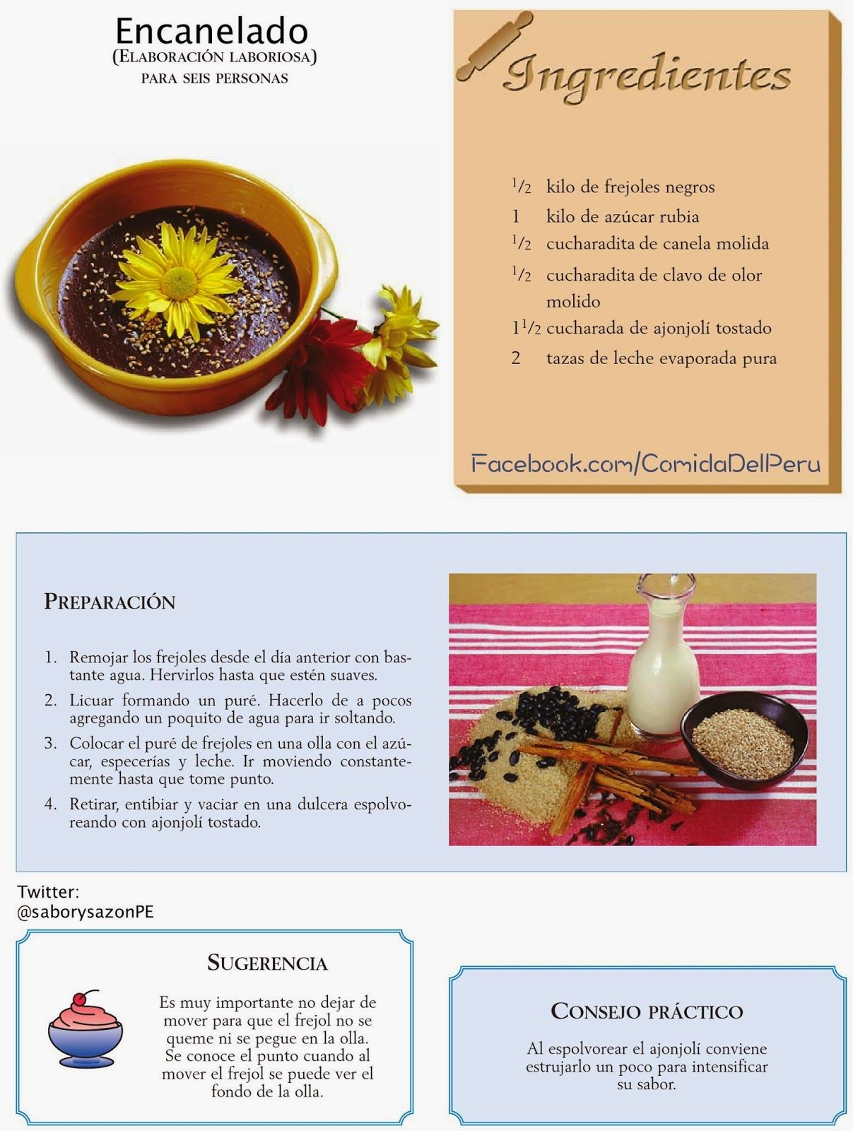 Resultado de imagen para recetas comida peruana  MiPer