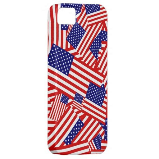 American Flag Collage CaseMate iPhone Case