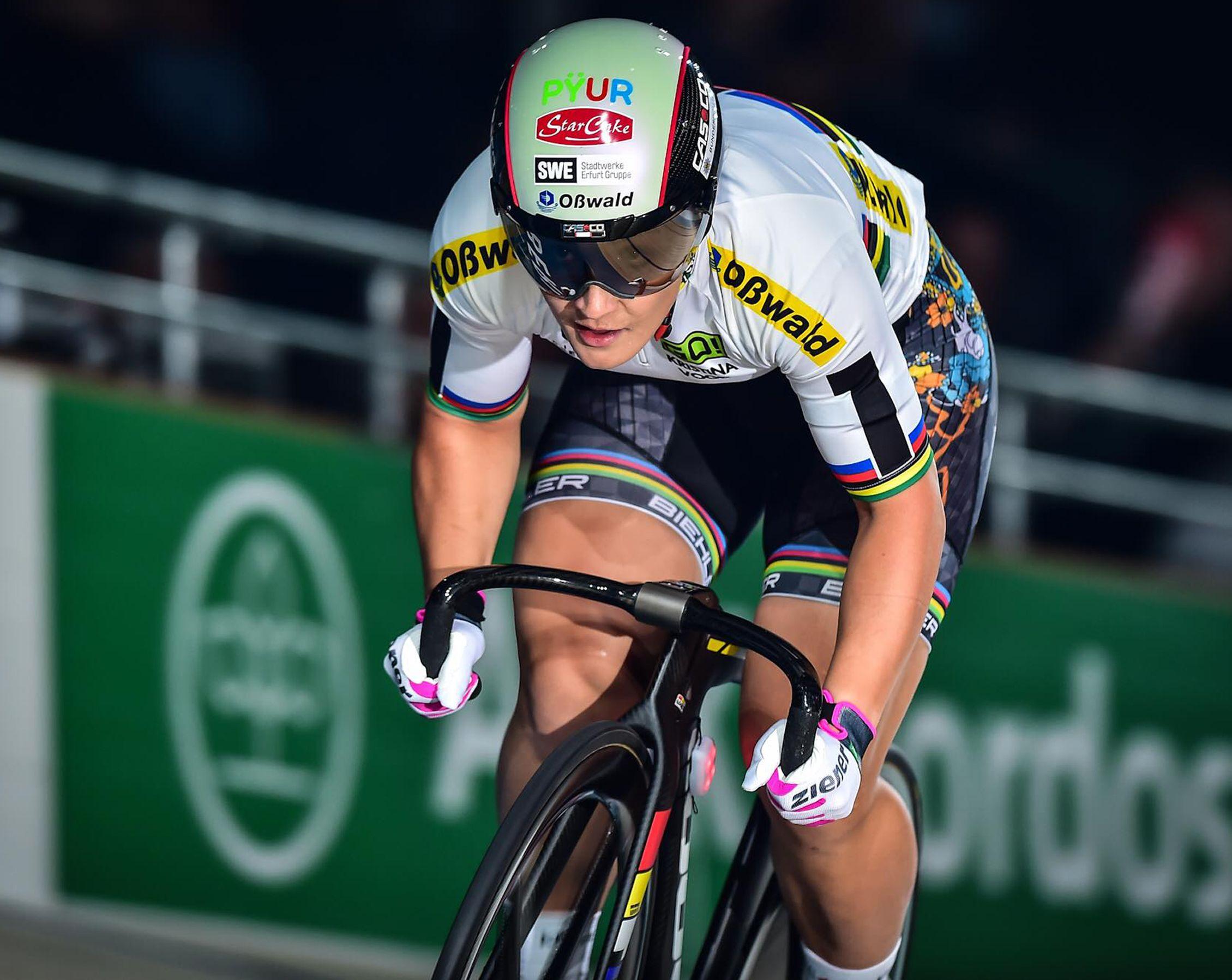 Kristina Vogel Beine