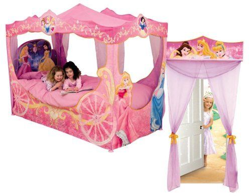 Disney Princess Bed Light Up Carriage Canopy u0026 Door Changer //  sc 1 st  Pinterest & Disney Princess Bed Light Up Carriage Canopy u0026 Door Changer http ...