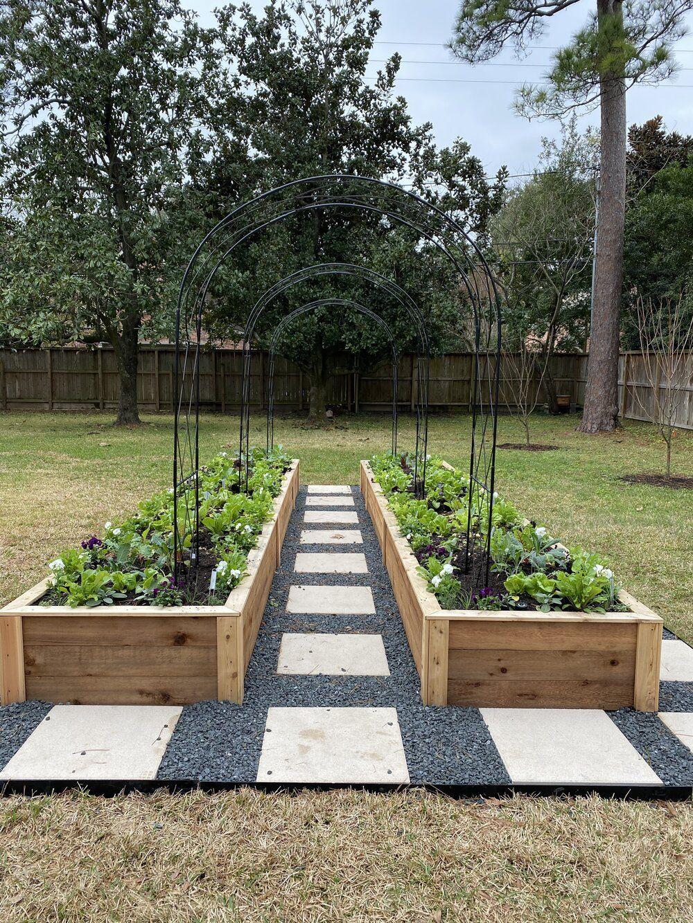 Raised Garden Bed Installation in Houston Texas
