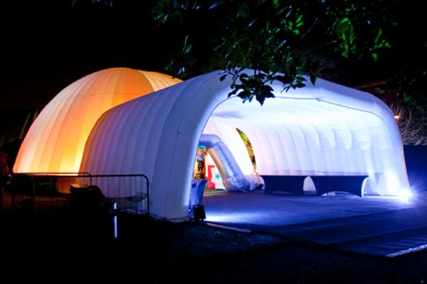 Outdoor Conference - Alternative Tent Option (Image Verve Marketing) & Outdoor Conference - Alternative Tent Option (Image: Verve ...