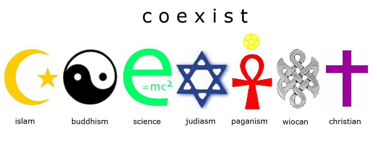 Image result for coexist