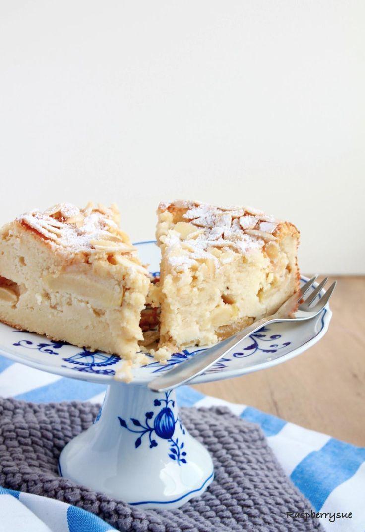 Herbstlicher Apfel Mandel Kuchen Mit Quark Kochen Fur Kinder