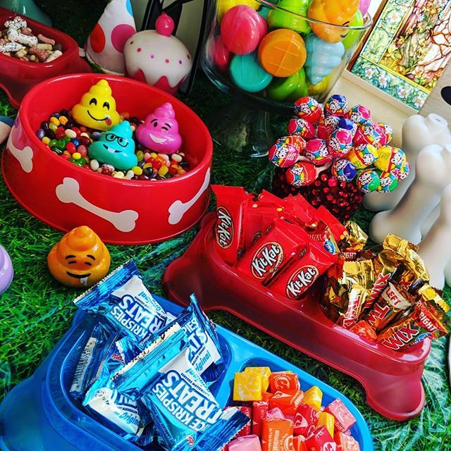 Give me all the candy! It's birthday time around here