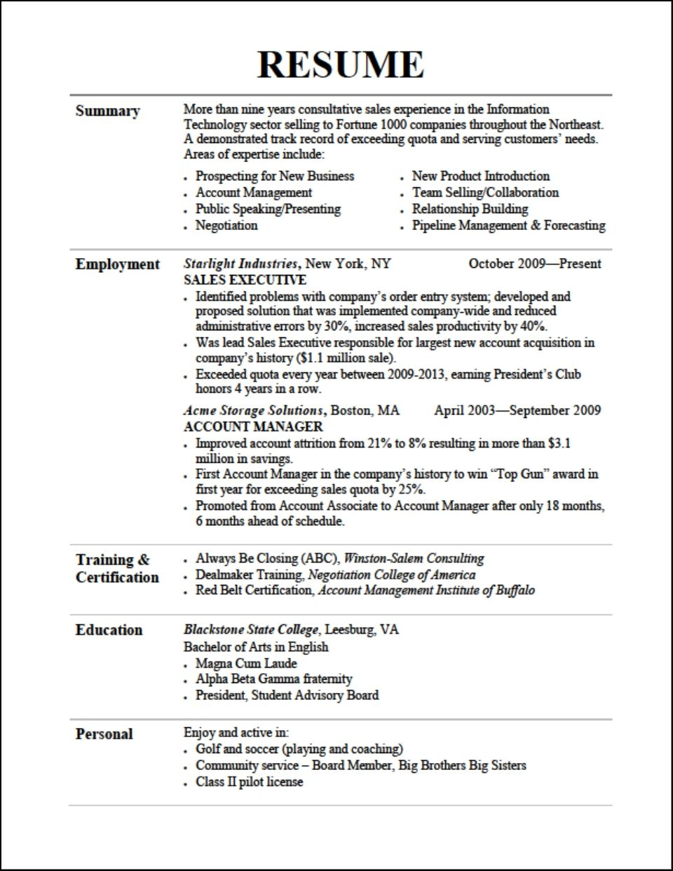 Tips 3 Resume Format Sample Resume Resume Resume Cv