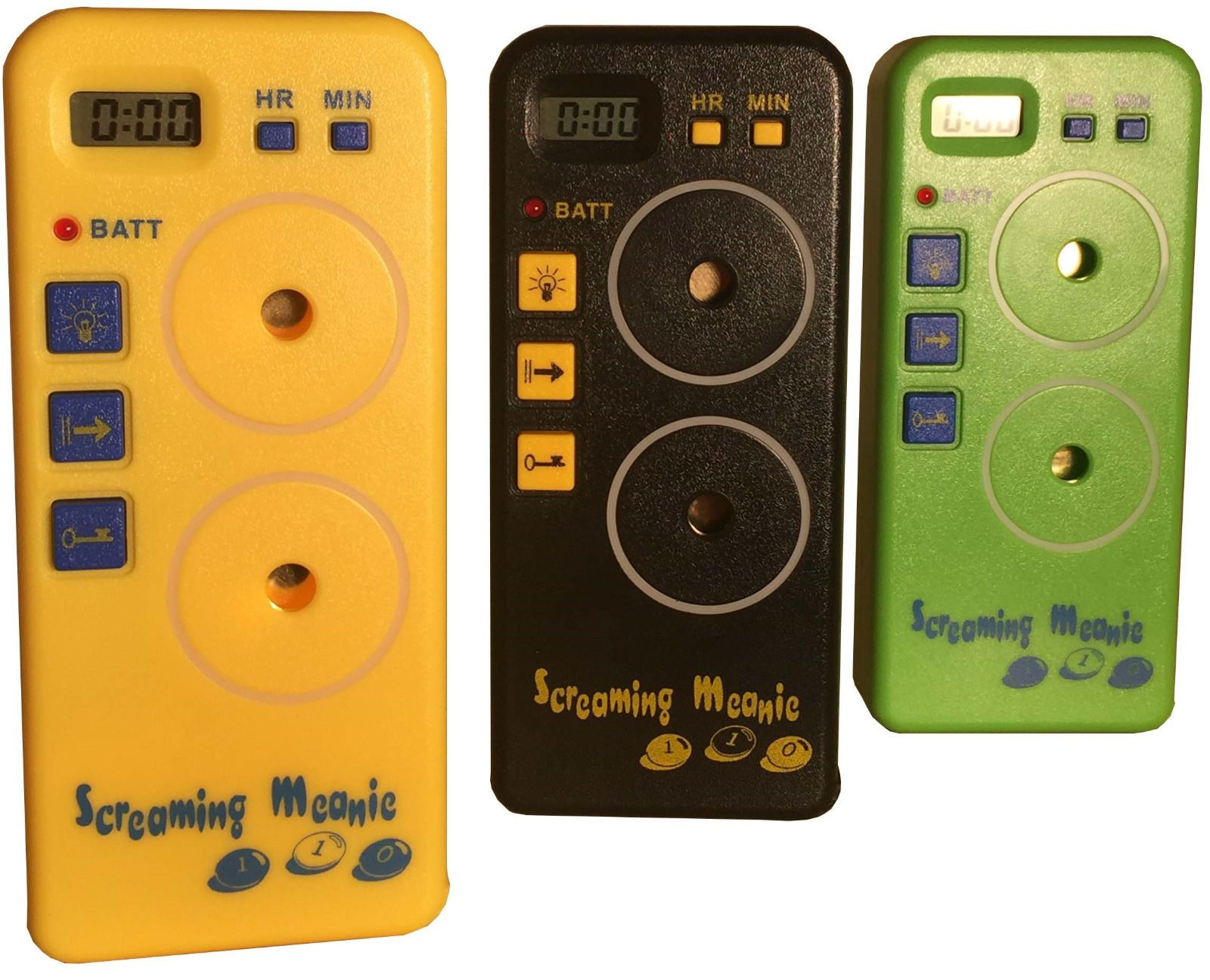 Extra Loud Alarm Timers Authentic Screaming Meanie TZ-120 Assorted Colors.