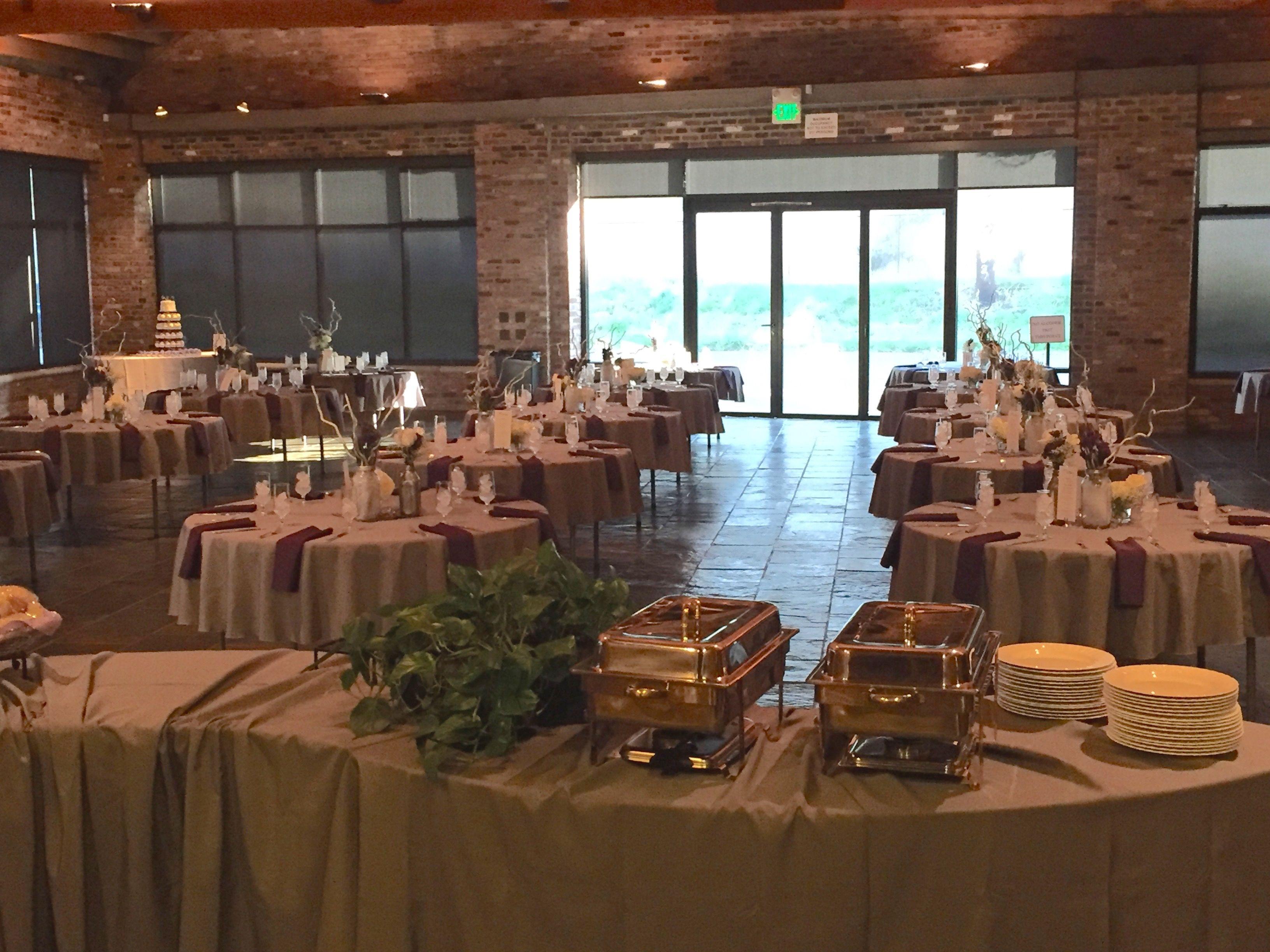 #historic1625tacomplace #pewter #wedding #eggplant #snuffins #snuffinscatering #tacomawedding #wedding #reception