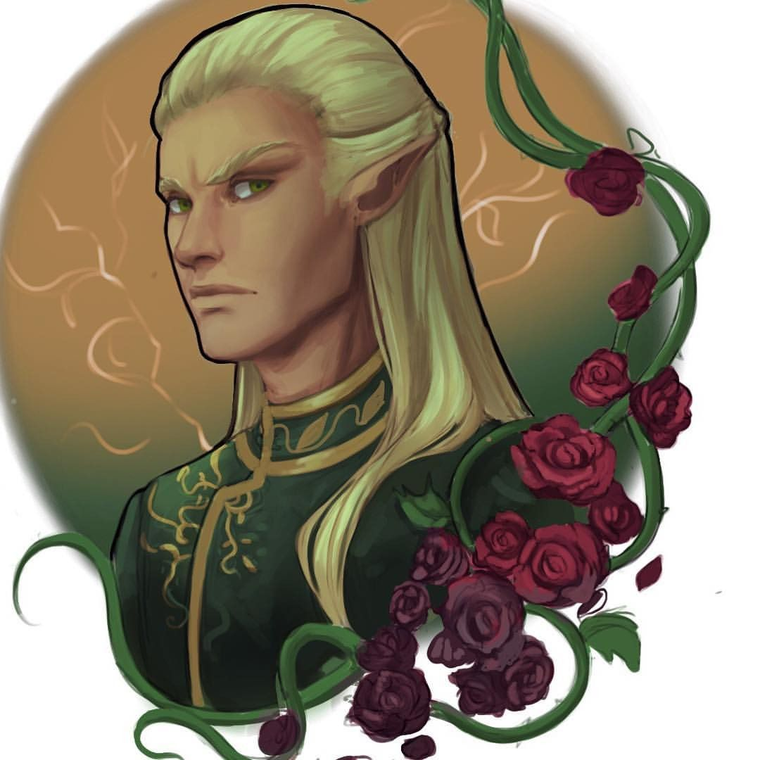 Tamlin Wip By Ashley Cassaday A Court Of Mist And Fury A Court