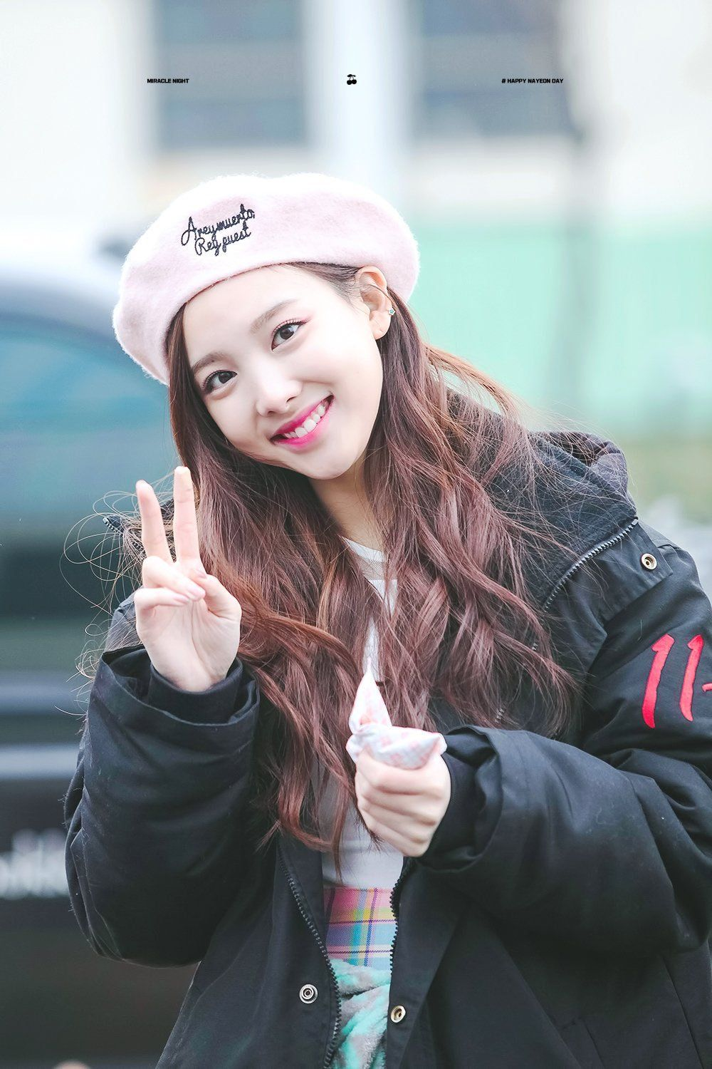 151128 Mini Fan Meeting At Mbc Show Music Core Nayeon Nayeon Twice Im Nayeon