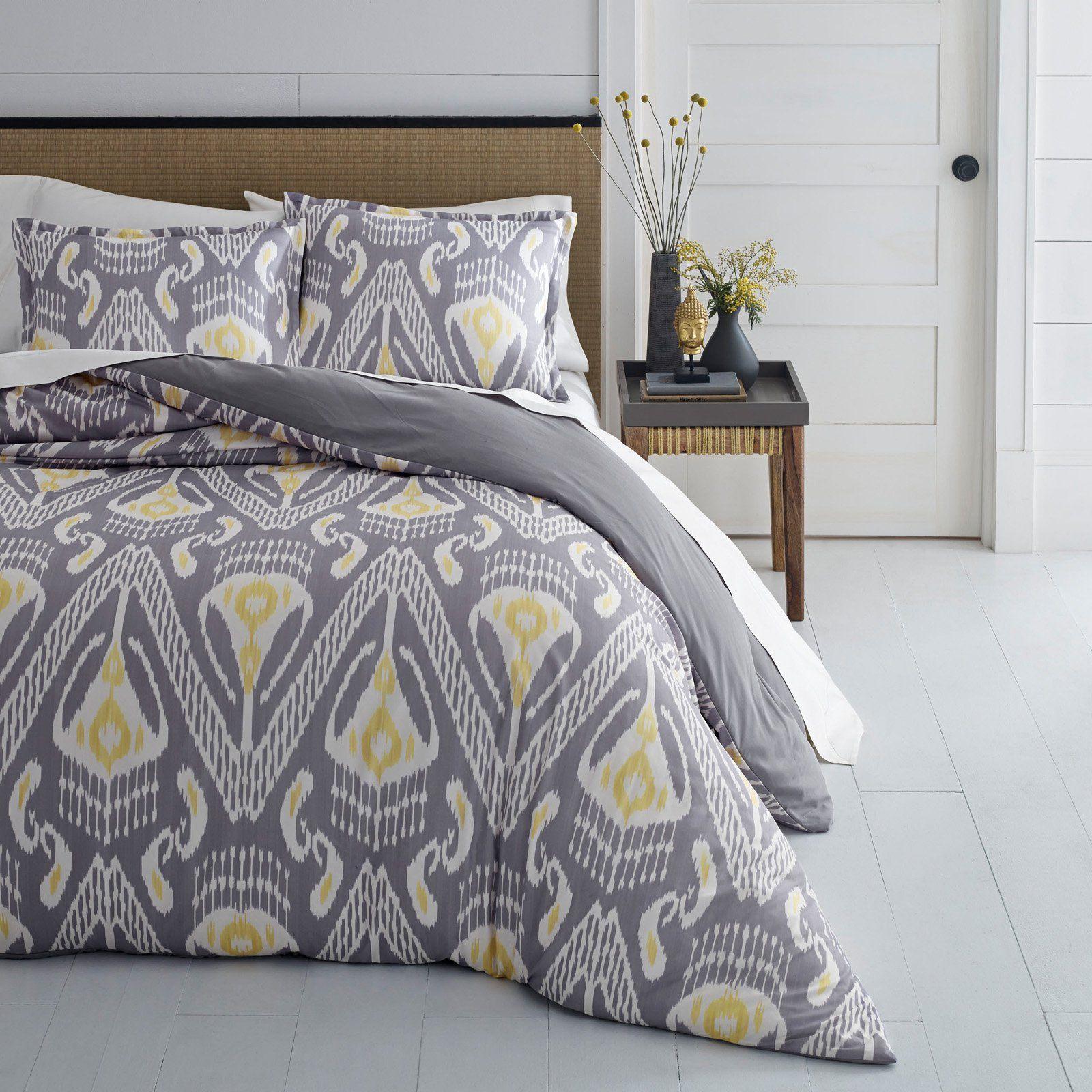 Global Ikat Comforter Set By Azalea Skye Size King Duvet Cover