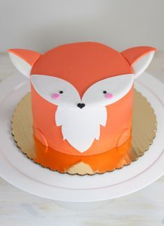 Meet Francesca The Fox Whipped Bakehshops Adorable Mini Animal Cake Creation Available For Pick Up And Delivery In Philadelphia PA