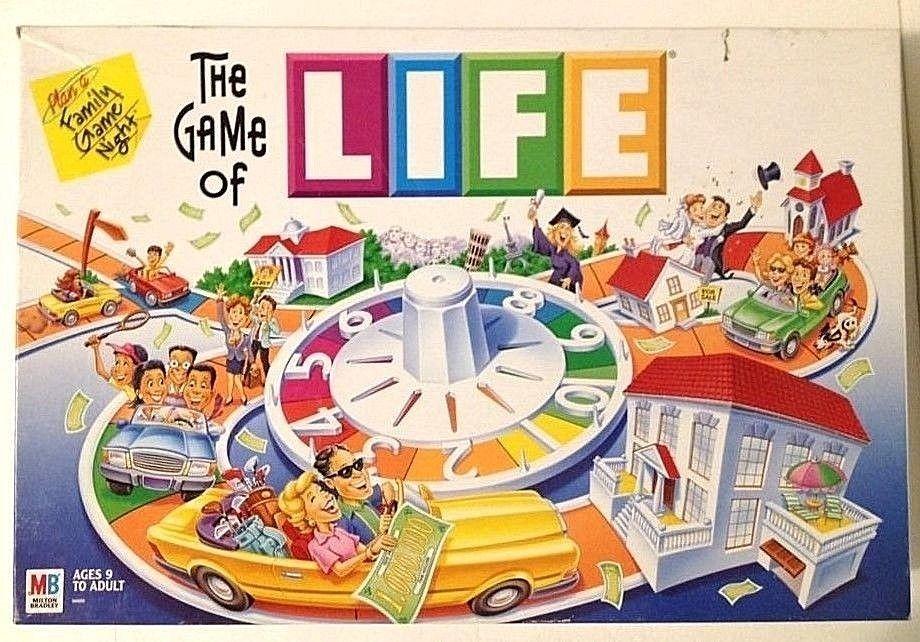 The Game Of Life 2002 Milton Bradley Near Complete Miltonbradley