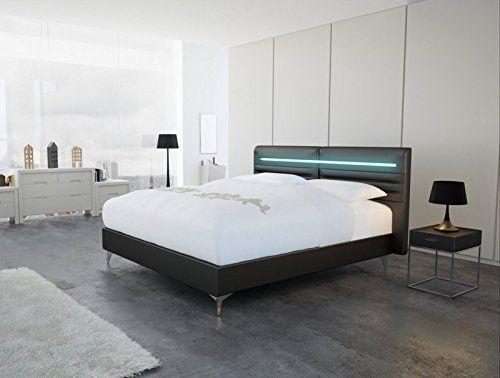 Boxspringbett design  SAM® Design Boxspringbett Abbadon Luciano schwarz mit 7-Zonen H3 ...